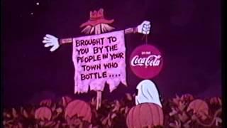 Download It's the Great Pumpkin Charlie Brown 1966 Coke sponsor open Video