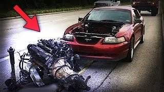 Download ENGINE RIPPED OUT ! [ EXTREME COMPILATION ] (explosions,knock sound,engine failure,fails) Video