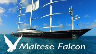 Download Super Yacht MALTESE FALCON ~ LARGEST SAILBOAT ~ WeBeYachting ~ Video