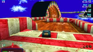 Download Re-Volt Custom Track Crazy Lego by GO AWAY ,8 Lap Race Video