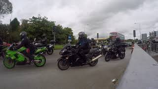 Download Bristol Bike Theft Awareness Ride 2017 - Bikers Leaving Dick Lovett Video