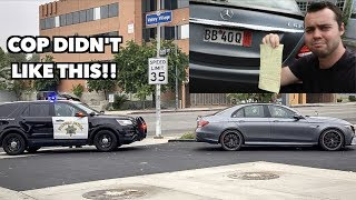 Download POLICE TICKET ME FOR ILLEGAL MERCEDES E63S MODIFICATION! Video
