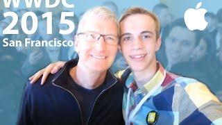 Download WWDC 2015 Student Scholarship Orientation, Keynote Line, & Tim Cook Meet Up Video