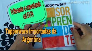Download TUPPERWARE IMPORTADO - Folheando e comentando Cat. 07/19 Video
