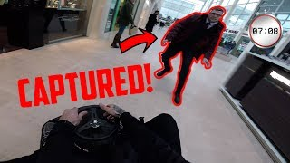 Download *INSANE* RIDING A CRAZY KART IN A MALL! Video