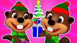 Download ″Beavers at Christmas Time″ | ABC Song, Merry Christmas Song for Children, Kids Learn the Alphabet Video