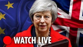 Download LIVE: Theresa May takes PMQs hours after her own MPs trigger no-confidence vote Video