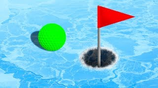 Download EXTREME GOLF ON ICE! (Golf It) Video