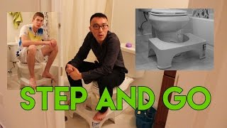 Download Trying The Step and Go - Toilet Posture Converter Video