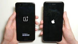 Download iPhone 8 Plus vs OnePlus 5 Speed Test! Video