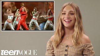 Download Maddie Ziegler Tries Iconic Music Video Dances | Teen Vogue Video