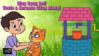 Download Ding Dong Bell - Nursery Rhymes - Voice & Karaoke - Sing Along - Animated Rhymes - Kids Video