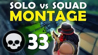 Download 33 KILL SOLO SQUAD MONTAGE | DAEQUAN TIPS TO BECOME A YOUTUBER / STREAMER - (Fortnite Battle Royale Video