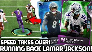 Download LAMAR JACKSON PLAYS RUNNING BACK! 97 AMARI COOPER! Madden 19 Ultimate Team Video
