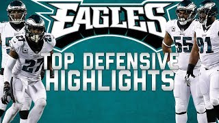Download Philadelphia Eagles Top Defensive Highlights from the 2017 Season 🦅 | NFL Highlights Video