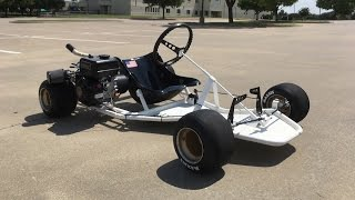 Download Homemade Racing Go Kart (Shifter Kart Frame) Build Video