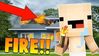 Download Minecraft - CAN A BABY BURN DOWN THE HOUSE? WHO'S YOUR DADDY?! Video