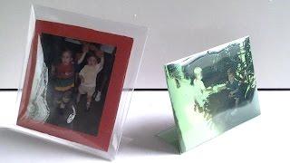 Download Porta retrato de garrafas pet- sem cola - diy-creditos Angela rodrigues Video