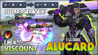 Download Alucard with Execute?! No Boots for Late Game! VISCOUNT Top 1 Global Alucard ~ Mobile Legends Video