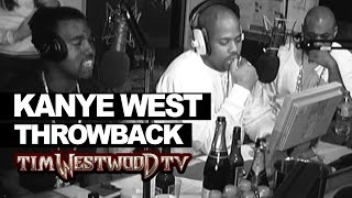 Download Kanye West freestyle 2004 never seen before! Westwood Throwback with Dame Dash & Biggs Video