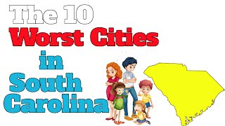 Download The 10 Worst Cities In South Carolina Explained Video