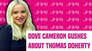 Download Dove Cameron On Moving In With Thomas Doherty & Their Matching Tattoos Video