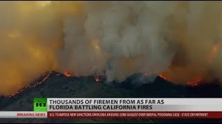 Download California Fires Won't Let Up Video