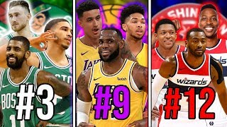 Download Ranking The BEST Big 3 From EVERY NBA Team Video