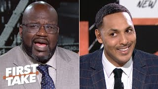 Download Shaq in shock after Hollins says neither Kobe nor MJ can fill LeBron's shoes | First Take Video