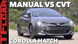 Download Fun or Fail? Manual vs. CVT in the 2019 Toyota Corolla Hatch Video