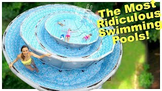 Download FILLING OUR POOL WITH SWIMMING POOL!! 🙄 Video