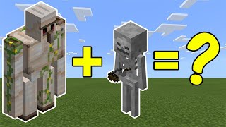 Download I Combined an Iron Golem and a Skeleton in Minecraft - Here's What Happened... Video