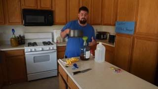 Download How to make mead (honey wine) with no special equipment in under 30 minutes Video