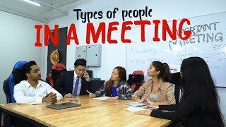 Download Types of People In A Meeting Video