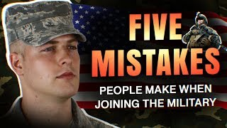 Download 5 Mistakes People Make When Joining The Military Video