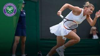 Download Simona Halep vs Saisai Zhang 2R Highlights | Wimbledon 2018 Video