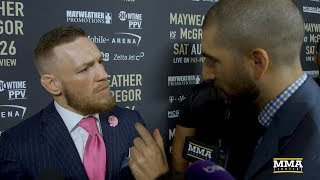 Download Conor McGregor Reacts to LA Presser, Says Floyd Mayweather Told Him 'MMA Next' Video
