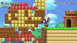 Download Super Mario Maker - 100 Mario Challenge #220 (Expert Difficulty) Video