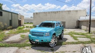 Download BTS Outrageous Tahoe on Amani forged 34s Video