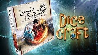 Download 19 #Dicecraft: La Leggenda dei 5 Anelli LCG Video