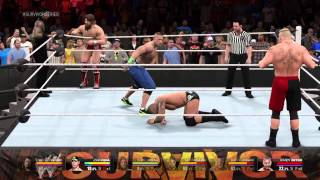 Download WW 2K15 PT 1 OF TAG TEAM ACTION Video