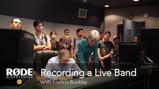 Download Recording a Live Band with Francis Buckley Video