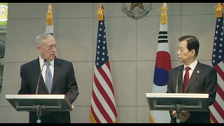 Download Trump's Defense Secretary Warns North Korea: US Response Will Be ″Overwhelming″ - Full Statement Video