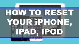 Download How To Fully Reset Your iPhone / iPad / iTouch Video