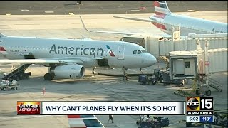 Download Why can't planes fly when it's so hot? Video