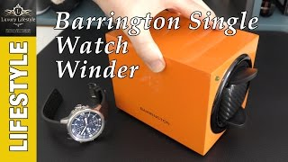 Download Barrington Single Watch Winder Review Video