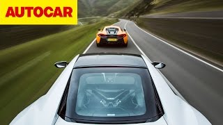 Download Honda NSX vs McLaren 570S | Autocar Video