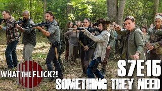 "Download The Walking Dead ""Something They Need"" (Season 7, Episode 15) Review Video"
