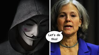 Download Anonymous Launches Initiative to End Media Blackout of Jill Stein Video