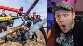 Download Model Rocket Battle 2 | Dude Perfect - Reaction Video